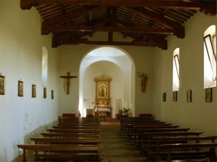 55 -Torriana - Interno- Chiesa Madonna di Saiano