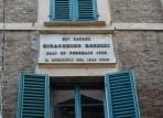 39 - Pesaro. Casa-Rossini- particolare..