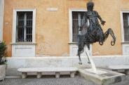 46 - Pesaro. Particolare del Conservatorio di musica G. Rossini