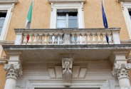 47 - Pesaro. Particolare del Conservatorio di musica G. Rossini