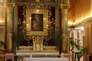 44 - Montefiore Conca . Santuario di Bonora interno