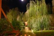 47 - San Giovanni in Marignano, giardino con antico corso del fiume, centro storico
