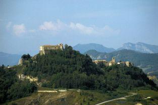 4 - Torriana - veduta del castello o rocca