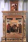 53- La Pala di Pesaro e la Cimasa dei Musei Vaticani, di Giovanni Bellini, ricostituite ai Musei Civici di Pesaro nel 1988
