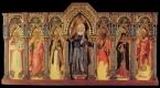 55 - PESARO. Musei Civici Pinacoteca e Museo delle Ceramiche, Jacobello del Fiore, Polittico della Beata Michelina