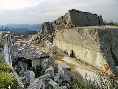 58 - Montebello di Torriana- cava di gesso