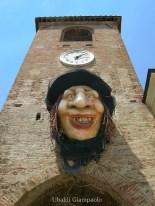 11 -San Giovanni in Marignano - Piazza Silvagni, Strega intrappolata nella Torre