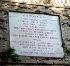 113 - Pesaro- Porta -Rimini, mura Roveresche particolare.