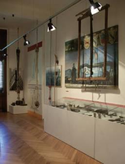 70 - Pesaro. Museo della Marineria Pesarese Washington Patrignani interno