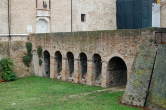 100 - Pesaro - Rocca Costanza, particolare