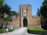 89 -Urbino - Porta Rocca della fortezza Albornoz