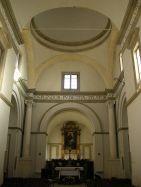 93 - Urbino, la chiesa di San bernardino, interno.