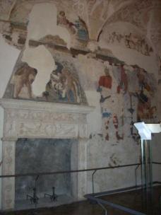 14 - Urbino - Palazzo-Ducale, sala del Duca- Sala della, Pietà, Murale