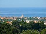 3 - Fano . vista dalla collina (campanile di San Paterniano