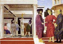 16-Urbino - Galleria Nazionale delle Marche. Nell'Appartamento del Duca in sala Udienze si trova la Flagellazione, di Piero della Francesca.