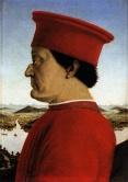 22 -Urbino - Galleria Nazionale delle Marche - Ritratto di Federico da Montefeltro di Piero della Francesca, (1465-1472 circa)