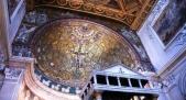 11,3 - Basilica di San Clemente interno. Cupola