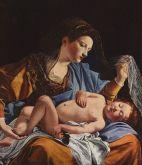 23 -Urbino - Galleria Nazionale delle Marche. Madonna col Bambino e santa Francesca Romana di Orazio Gentileschi (sala 4)
