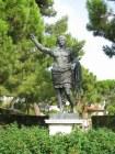 21 - Fano - Statua di Cesare Ottaviano Augusto, particolare