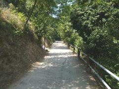 70 - Gradara - Passeggiata degli Innamorati (percorso pedonale che circonda la fortificazione di Gradara)