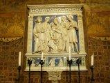 62 - Rocca. Cappella interna particolare dell'opera eseguita da Andrea della Robbia.