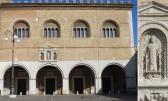 50 - Fano -Particolare del Palazzo della Ragione o del Podestà;