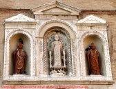 51 - Fano Iconografia di S. Paterniano (nicchia centrale) del palazzo della ragione