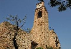 76 - Fiorenzuola di Focara - Chiesa di Sant'Andrea, particolare