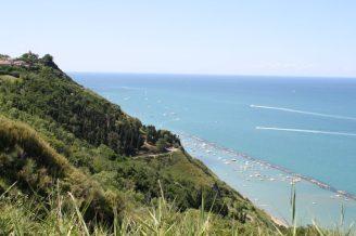 62,1 - Panoramica dal Parco San Bartalo su Fiorenzuola e il percorso verso il mare