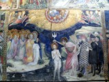 45 -Urbino - All'interno dell'Oratorio. Lorenzo e Jacopo Salimbeni- Giovanni Battista battezza Gesù