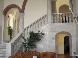 80 - Fano. Ingresso del Palazzo Malatesta. Atrio e scalinata d'ingresso al piano terra