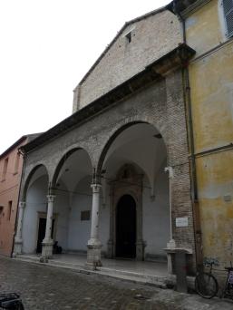 56 -Fano. Chiesa di S. Maria Nuova e convento