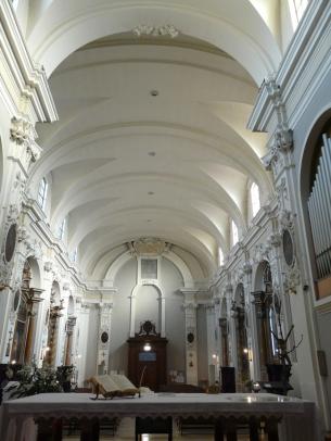 59 -Fano, interno della Chiesa di S. Maria Nuova