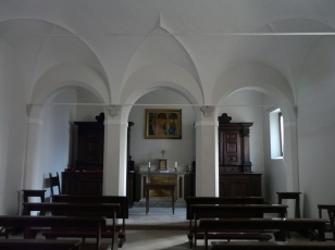 66 -Fano, interno della Chiesa di S. Maria Nuova , cappella cinquecentesca