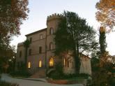 119 - Fano. Il Castello di Montegiove di sera
