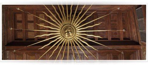 110 - Dimore Castracane degli Antelminelli, soffitto del salone