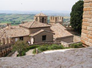 53 - Vista del borgo dal castello