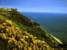 62 - Panoramica dal Parco San Bartalo su Fiorenzuola e il percorso verso il mare.