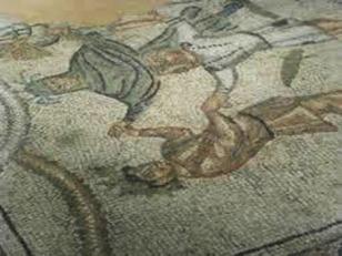 146 - Domus dei Tappeti di Pietra. Mosaico .
