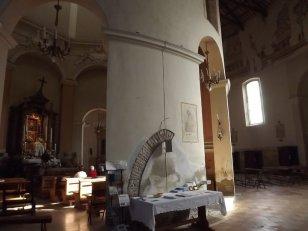 175 - Forlì. Interno. Santuario di Santa Maria delle Grazie di Fornò