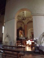 176 - Forlì. Interno. Santuario di Santa Maria delle Grazie di Fornò