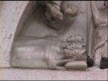 30,1 - A sinistra i Magi sono raffigurati addormentati mentre ricevono in sogno la visita dell'angelo del Signore