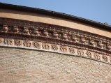 170 - Forlì. Forlì. Santuario di Santa Maria delle Grazie di Fornò, particolare esterno