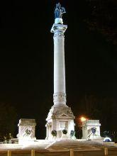 9 - Forlì. Monumento ai caduti piazza della Vittoria