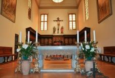 37 -Forlì- Altare Interno navata centrale Chiesa di San Mercuriale altare interno