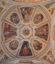41 - Particolare del Soffitto Affrescato - Chiesa di San Mercuriale (Forlì)