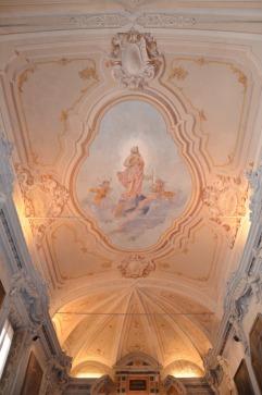 52 - Soffitto Decorato - Cappella Feriale Sacrestia Chiesa di San Mercuriale (Forlì)