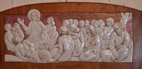 55 -Cappella del Sacramento Bassorilievo - Chiesa di San Mercuriale (Forlì)