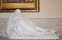 56 - Cappella del Sacramento - Modello in Gesso della Pieta - Chiesa di San Mercuriale (Forlì)