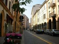 3- Forlì . Corso Mazzini in fondo Piazza Saffi
